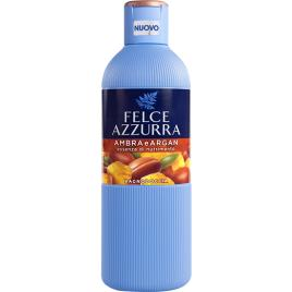 Spuma de baie cu parfum de ambra si argan felce azzurra bagnodoccia 650 ml