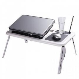 Masa laptop multifunctionala cu 2 coolere si suport pahar