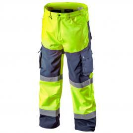 Pantaloni de lucru cu vizibilitate ridicata softshell galbeni nr.s/48 neo tools 81-750-s