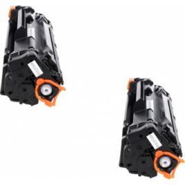 2 buc Toner Compatibil CB435A CB436A CE285A CB-435A CB-436A CE-285A