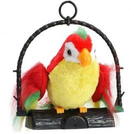 Jucarie de plus interactiva, papagalul vorbitor in colivie