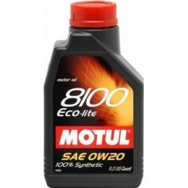 Ulei de motor Motul 8100 Eco-Lite 0W20 5L DL86X3MBM