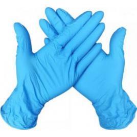 100 Manusi din Nitril Neprudate de Unica Folosinta Marime XL Culoare Albastru