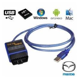 Interfata Diagnoza Tester Profesional Auto Mazda