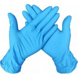 Manusi de protectie din Nitril Albastre 100 buc/cutie marimea M