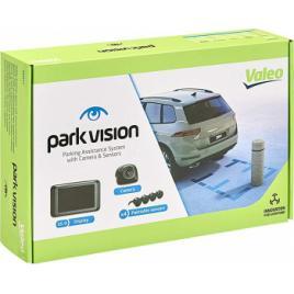 Sistem parcare cu 4 senzori camera marsarier si display Valeo