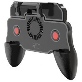 Controller Joystick Gamepad Pro Gaming Mobile F10, Smartphone, Android, Ios, Universal Compatibil, Impulse Triggers, Mod 4 Degete, Acumulator 2000mAH, Cooling Fan, PUBG, CoD, Apex Legends