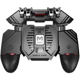 Gamepad Pro Gaming Mobile AK77, Smartphone, Android, Ios, Universal Compatibil, 6 Triggere Metalice, Mod 6 Degete, Cooling Fan, Acumulator 4000mAH, Pubg, Cod, Apex Legends