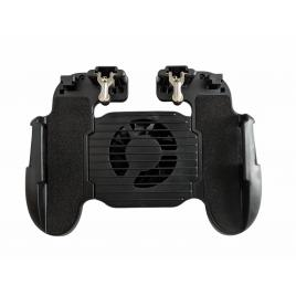 Gamepad Pro Gaming Mobile H5-0, Smartphone, Android, Ios, Universal Compatibil, Triggere Metalice, Mod 4 Degete, Cooling Fan, PUBG, CoD, Apex Legends