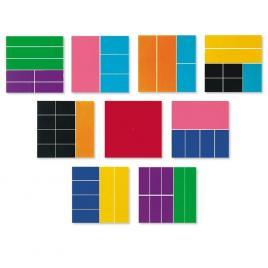 Set geometria fractiilor - patrate