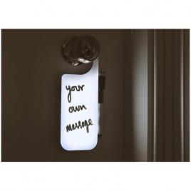 Agatatoare cu led pentru usa, cu marker non permanent, scris mesaje,funny, do...