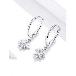 Cercei Argint 925 cu steluță