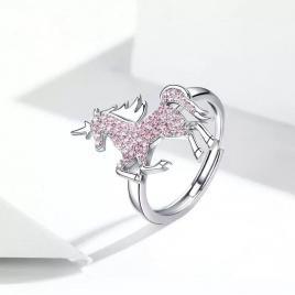 Inel din Argint 925 unicorn