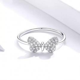 Inel din Argint in forma de fluture.