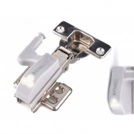Lampă automată 2x, cu led, pentru balamale usilor,mobilier ,ideal mobil,baterie...