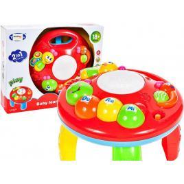Masuta interactiva copii, cu lumini si sunete