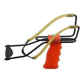 Prastie profesionala de competiti reglabila cu suport de antebrat si spatiu de stocare a munititei in maner, portocaliu