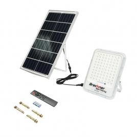 Lampa LED cu panou solar 70W proiector 200W baterie 3,2V/30Ah