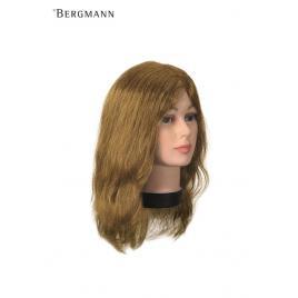 Manechin profesional bergmann 100 % par natural uman teeny  natura blond cod.091048