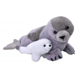 Jucarie plus mama si puiul - foca