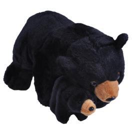 Jucarie plus mama si puiul - urs negru