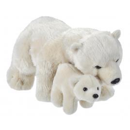Jucarie plus mama si puiul - urs polar