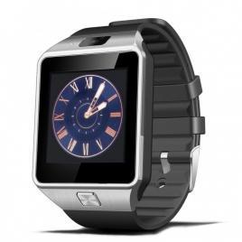 Smartwatch DZ09,1.56inch LCD, Compatibil SIM, MicroSD, Camera Foto, Apelare, SMS, Pedometru, Monitorizare Somn