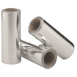 Folie aluminiu set x 3 buc 12u x 15 cm latime  x 100 ml x 390 gr.buc