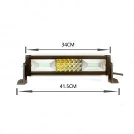 Proiector led ch008b - 180w, 14400lm, 6000k, spot beam maniacars
