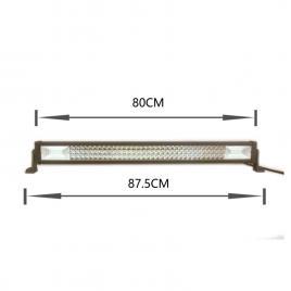 Proiector led ch008b - 423w, 33840lm, 6000k, spot beam maniacars