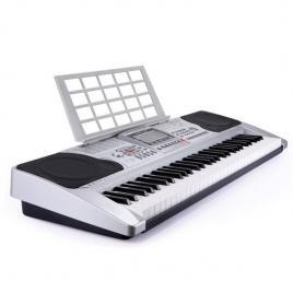 Orga muzicala electronica cu 61 de clape xy-329, ecran lcd cu intrare usb si iesire midi