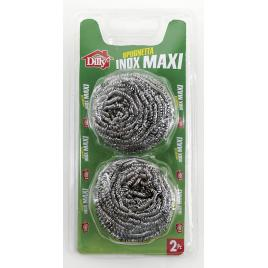 Burete de inox dilly spugna acciaio x 2 buc 100gr