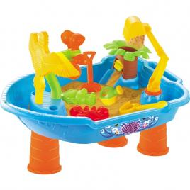 Masuta de joaca pentru apa si nisip rotunda - Little Boat