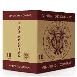 Muscat demidulce de comrat, alb demidulce, bag in box 10l