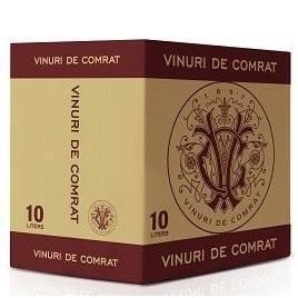 Sauvignon de comrat, alb demisec, bag in box 10l