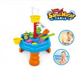Masuta de joaca pentru apa si nisip 20 piese