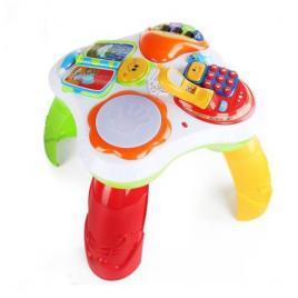 Masuta activitati bebe interactiva 2 in 1 Happy Baby