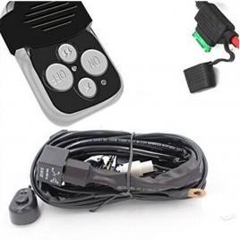 Sistem telecomanda si cablaj pentru proiectoare led maniacars
