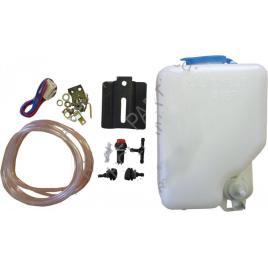 Kit spalator faruri universal rezervor 1.5 l 12v, set complet , furtun, teu, comutator , pompa kft auto