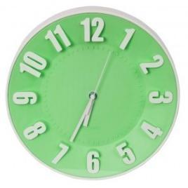 Ceas platinet perete, model today, pztgc, 42991, verde