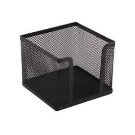 Suport cub hartie cnx, plasa metalica 10x10x8 cm