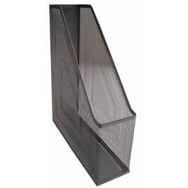 Suport document vertical cnx 7,5 cm, plasa metalica, negru