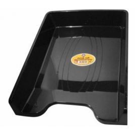 Tavita documente a4 ark 350, plastic negru mat