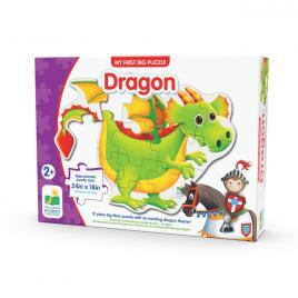Primul meu puzzle de podea 12 piese - dragon