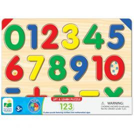 Puzzle 16 piese - sa invatam numerele