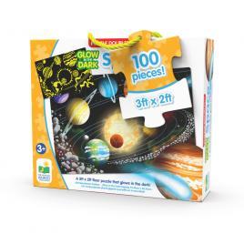Puzzle straluceste in intuneric 100 piese - spatiu