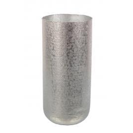 Suport umbrele din aluminium argintiu graceful Ø 25 cm x 55 h