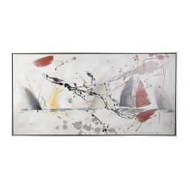 Tablou canvas abstract pictat in ulei crown 122.5 cm x 4.5 cm x 62.5 h