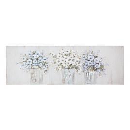 Tablou pe panza pictat in ulei flowers 150 cm x 2.8 cm x 50 h