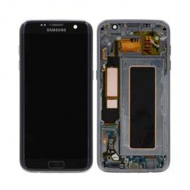 Display cu touchscreen samsung galaxy s7 edge g935 original negru